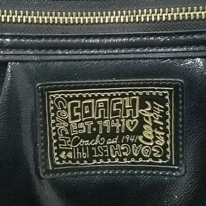 Coach Bags - COACH Handbag Tote F20004 POPPY Patent Leather